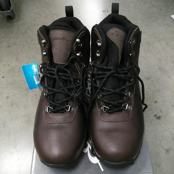 51934f15530 Eddie Bauer Hiking Boots Chestnut Brown